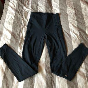 Lululemon blue full length tights